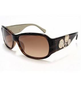 Coach Parker S848 Sunglasses S-848 Brown Horn 245 Frame