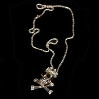 Skull Crown Necklace