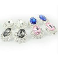 Crystal Rhinestone Earrings