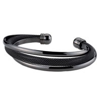 Cuff Bracelet in black