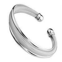 Cuff Bracelet in silver