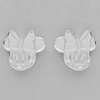 Disney Couture Minnie Mouse Sterling Silver Earrings