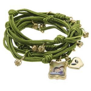 DISNEY COUTURE Snow White Wrap Charm Bracelet