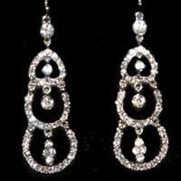 Dangle Sparkly Earrings