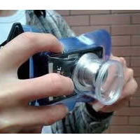 Digital Camera Waterproof Bag in Blue