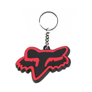 Fox Motorcross Keyring in Red