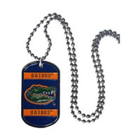 Florida Gators Dog Tag Necklace