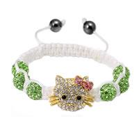 Green Hello Kitty Bracelet