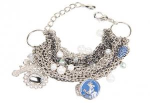 Guess Pirate's Booty 15-Row Charms Bracelet