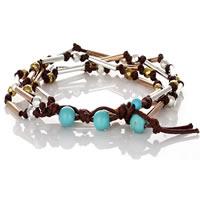 Handmade Trendy Knotted Tube Wrap Bracelet