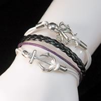 Hemp Rope Anchor & Octopus Bracelet