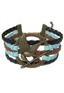 Hunger Games Mocking Jay Braided Bracelet