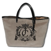 JUICY COUTURE Grey Pammy Tote