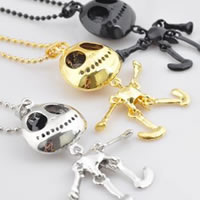 Jack Skellington Nightmare Before Christmas Charm Necklace