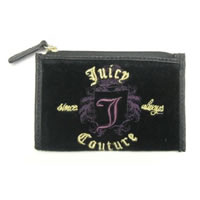JUICY COUTURE Velour J Key Purse