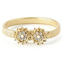 Juicy Couture 'Nouveau Couture' Double Cluster Stretch Bracelet