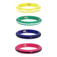 Juicy Couture Striped Resin Bangle
