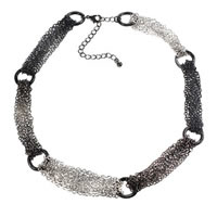 Keep it Classic: Tri-Tone Chain Necklace