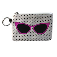 Key Purse Pink Sunglasses