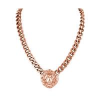 Lion Head Copper Pendant Necklace