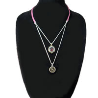 Lucky Brand 2 Row Chain Dragon Necklace