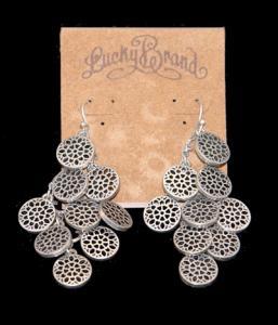 Lucky Brand Tribal Drop Earrings