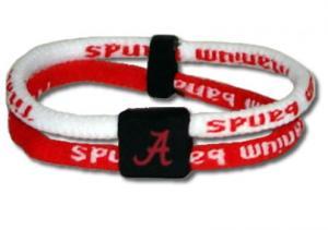 NCAA Titanium Band - Alabama Crimson Tide