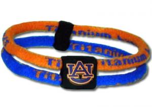 NCAA Titanium Band - Auburn Tigers