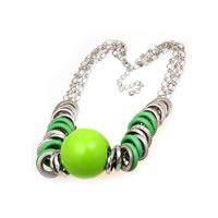 Neon Green Choker Necklace