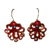 Octopus Drop Earrings
