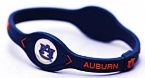 Auburn Tigers Power Force Energy Bracelet (Blue)
