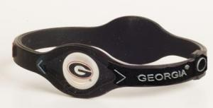 Georgia Bulldog Power Force Energy Bracelet (Black/White)