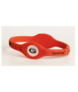 Georgia Bulldog Power Force Energy Bracelet (Red)