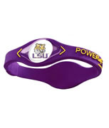 LSU Tigers Power Force Energy Bracelet (Purple)