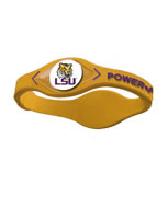 LSU Tigers Power Force Energy Bracelet (Yellow)