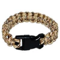 Paracord Survival Rescue Bracelet (Desert Camo)