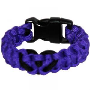 Heart Paracord Survival Rescue Bracelet<br /> (Purple)