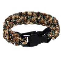 Paracord Survival Rescue Bracelet (Multicam)