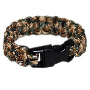 Paracord Survival Rescue Bracelet<br /> (Multicam)