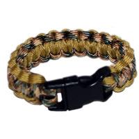 Paracord Survival Rescue Bracelet (Multicam & Coyote Brown)