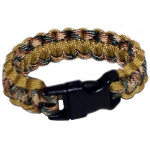 Paracord Survival Rescue Bracelet<br /> (Multicam & Coyote Brown)