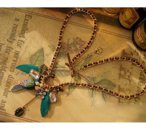 Parrot Feather Necklace