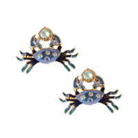 Sea Crab Stud Earrings