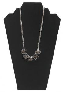 Sliver and Black Necklace