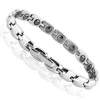 Ladies South Korean Titanium Steel Magnetic Health Bracelet