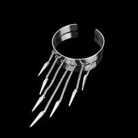 Spike Tassel Upper Arm Cuff Bracelet
