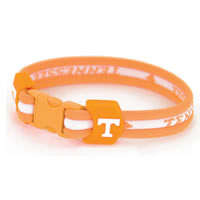 Eagles Wings Tennessee Volunteers Titanium Sport Bracelet