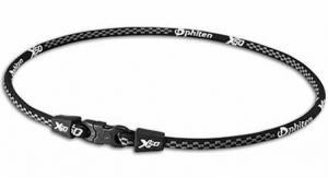 Phiten Japanese RAKUWA Titanium Necklace X50<br />  (Checked Black)