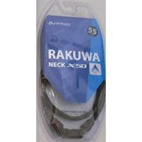 Phiten Japanese RAKUWA Titanium Necklace X50  (Checked Brown)