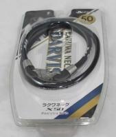 Phiten Japanese RAKUWA Titanium Necklace X50 D11     (Black)